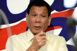 El 'justiciero' presidente filipino lanzará a los corruptos desde un helicóptero