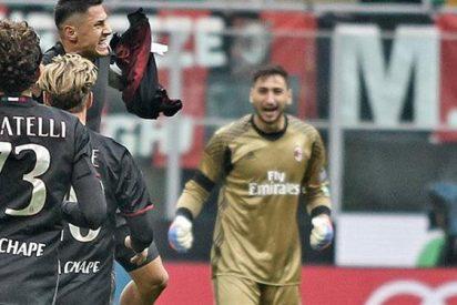 Roma y AC Milán persiguen a Juventus sin descanso