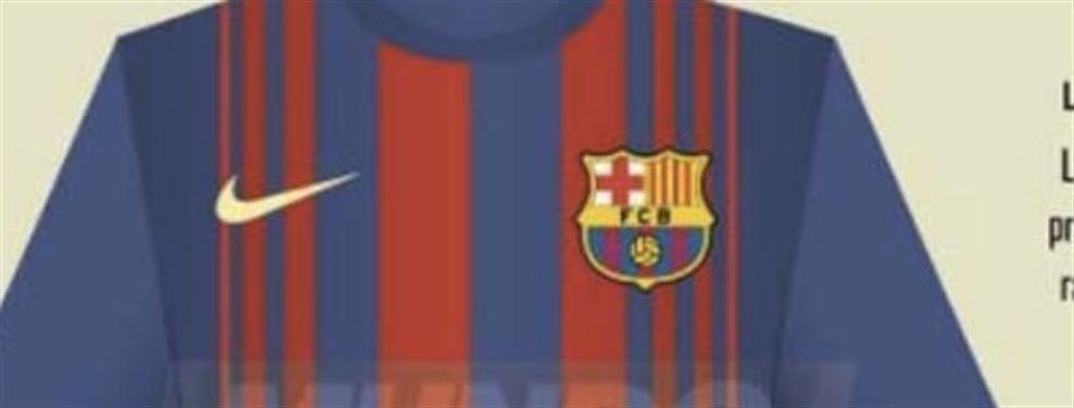 Se filtró la nueva camiseta del Barça para la temporada 2017-2018