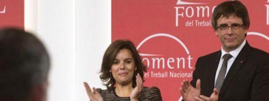 José María Carrascal advierte a Sáenz de Santamaría que deje de hacer concesiones a los chantajistas Urkullu y Puigdemont