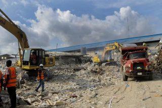Al menos 60 muertos tras derrumbarse el techo de una iglesia en Nigeria