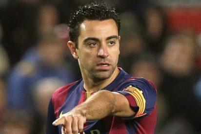 Xavi señala a su heredero en el centro del campo del Barça