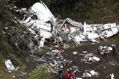La tragedia del Chapecoense fue por falta de combustible y sobrepeso