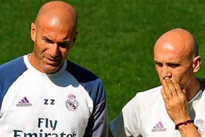 Zidane culmina su lista definitiva de bajas para el mercado de invierno