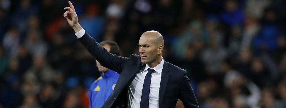 Zidane le señala a Florentino su primer deseo para el mercado de verano