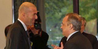 Zinedine Zidane le pide a Florentino un jugador del Manchester City