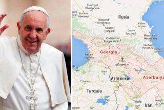El Papa lleva a Georgia y Azerbaiyán