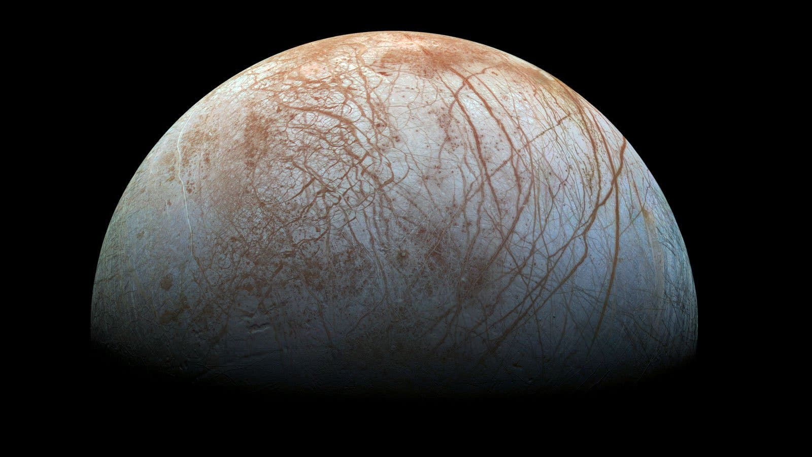 El misterioso océano subterráneo que la NASA ha descubierto en una luna de Júpiter