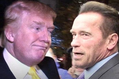 Donald Trump se ríe de 'Terminator' Schwarzenegger