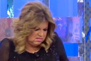 Terelu Campos se hincha y explota en 'Sálvame'