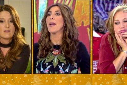 Paz Padilla se ríe en su cara de Belén Esteban y estalla la guerra en 'Sálvame'
