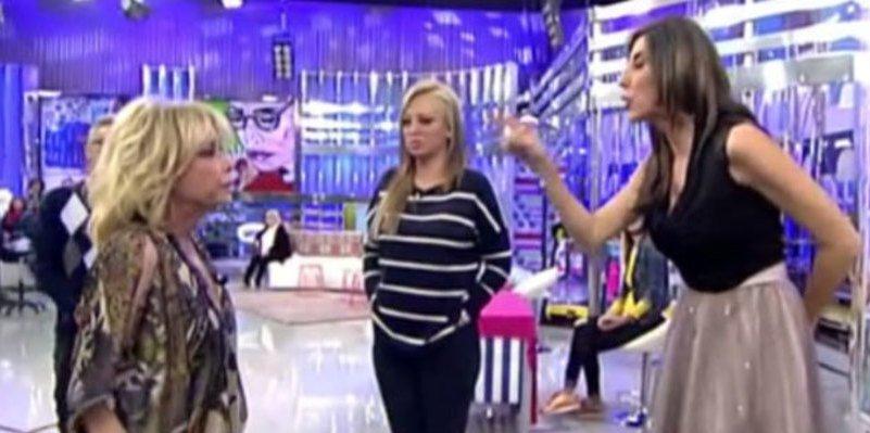 Mila Ximénez embiste a la odiada Paz padilla y revienta 'Sálvame'
