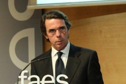 José María Aznar resuelve su enigma y deja patidifusos a los adversarios de Mariano Rajoy