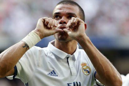 Pepe, baja ante el Sevilla por una lesión de grado II en el gemelo izquierdo