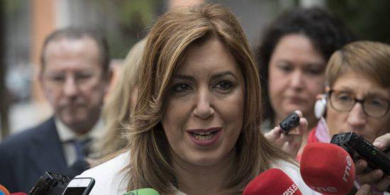 """Ignacio Camacho exige a Susana Díaz que dé la cara frente a Pedro Sánchez: """"Si se vuelve a dar la espantada, dejará sin resolver el colapso socialista"""""""