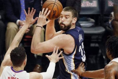 Los 32 puntos de Marc Gasol, insuficientes ante Houston