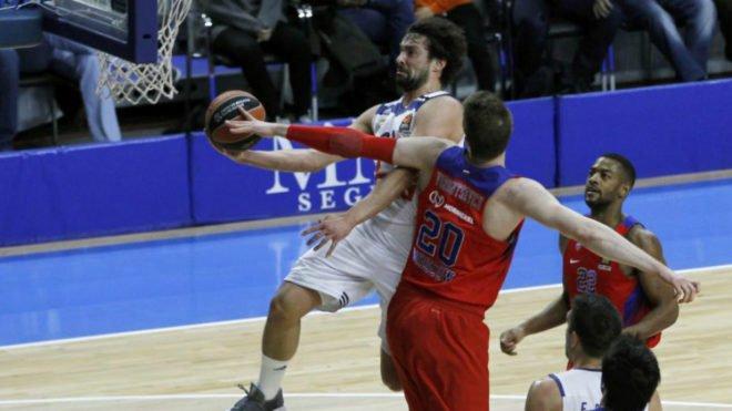 El Real Madrid gana al CSKA en el duelo de titanes de la Euroliga