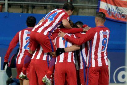 El equipo del Cholo Simeone despierta a tiepo: Eibar 0 - Atlético de Madrid 2