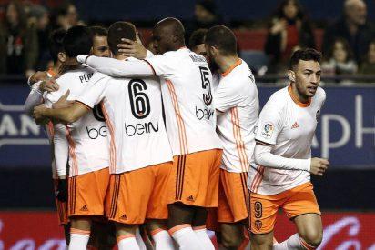 Valencia y Osasuna firman tablas en un partido dramático