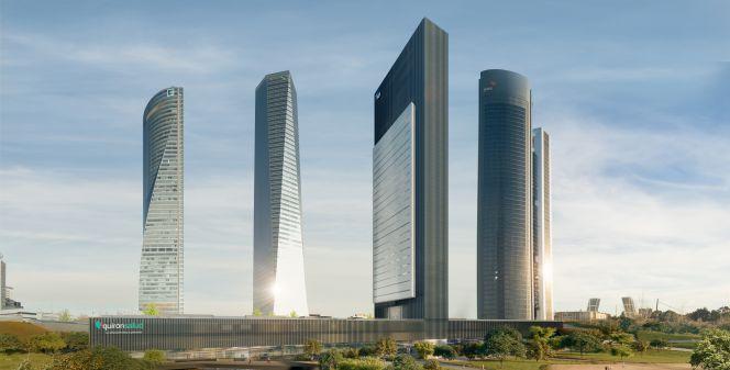'Caleido', la Quinta Torre de Castellana madrileña, costará 300 millones y abrirá en 2019