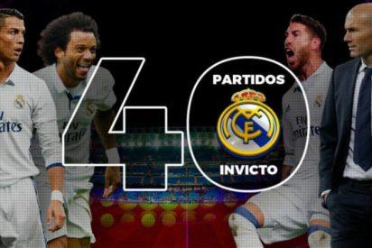 El Real Madrid supera el récord del Barça de Luis Enrique: 40 partidos invicto