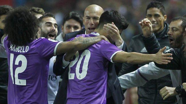 El Real Madrid empata con el Sevilla en el último suspiro y se clasifica para cuartos de la Copa del Rey
