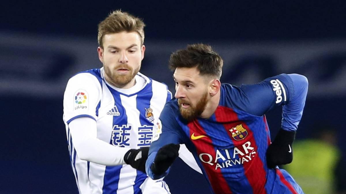 El Barça rompe el gafe de Anoeta a base de percusión: Real Sociedad 0- FC Barcelona 1