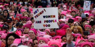 Las mujeres en pie de guerra contra Trump por defender sus derechos