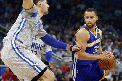 Stephen Curry y Thompson fulminan a los Magic de Ibaka