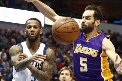 ¡Ridiculo!: Calderón sufre con los Lakers la mayor derrota en la historia de la franquicia
