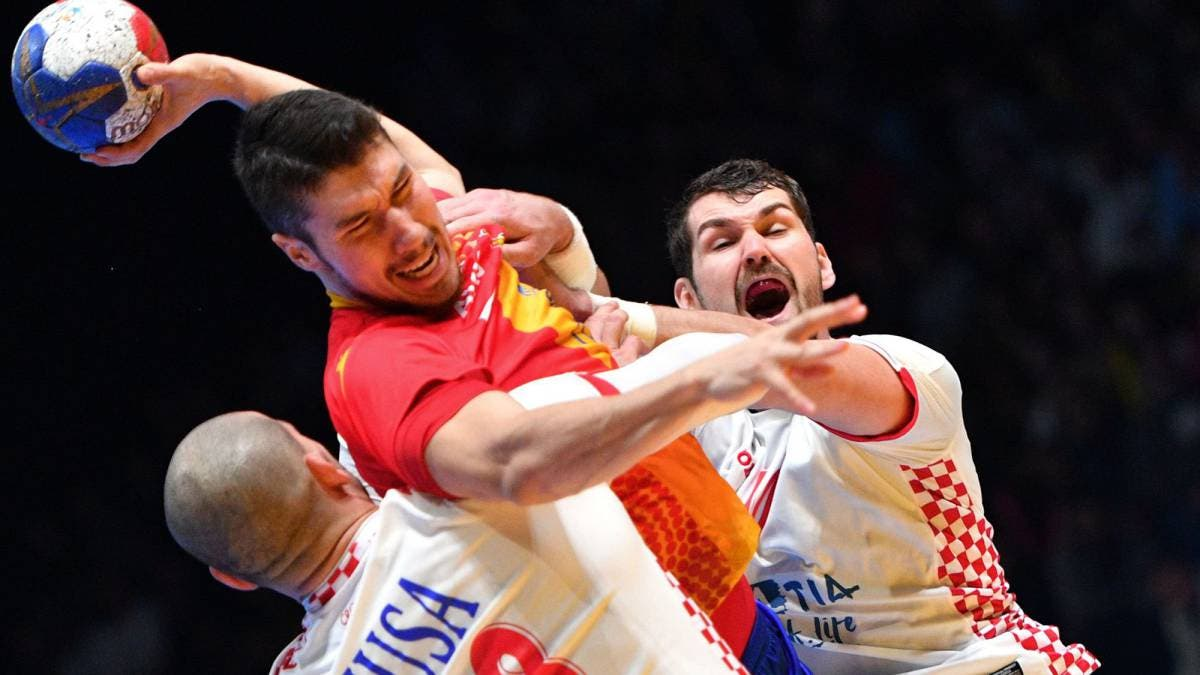 Croacia manda a casa a España, que falló el último lanzamiento (29-30)
