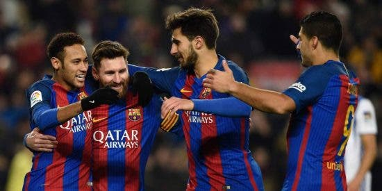 El Barça de Messi disfruta: FC Barcelona 5 - Real Sociedad 2