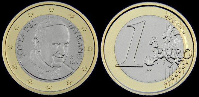 El rostro del Papa desaparecerá de las monedas del Vaticano