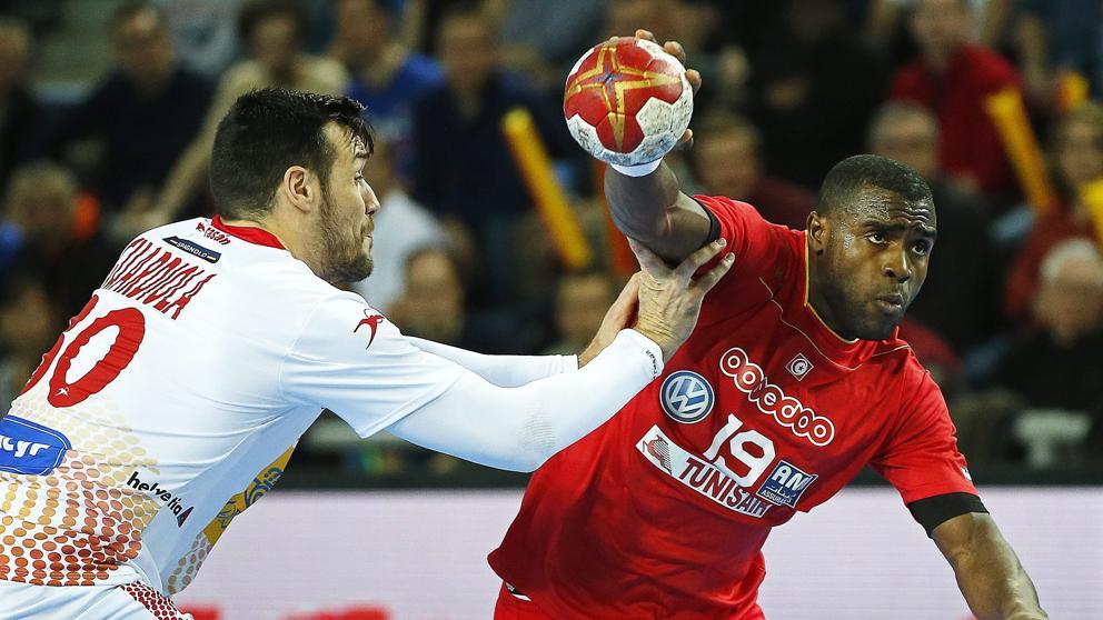 Los 'Hispanos' suman la segunda victoria (21-26) del Mundial a costa de Túnez