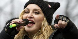 """Madonna lideró la gran marcha rosa contra Donald Trump: """"Que te jodan"""""""