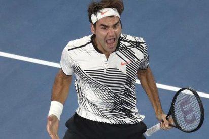 El Gran Federer remonta a Nishikori y busca su 18º título en el Open de Australia