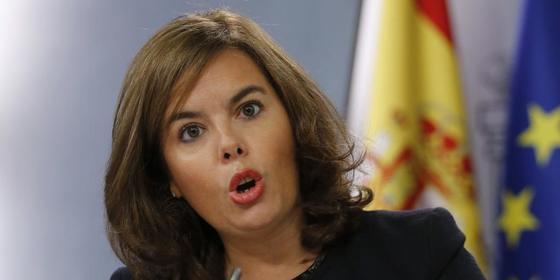 """Soraya Sáenz de Santamaría en Cataluña: """"La Seguridad Social es corazón de la solidaridad entre españoles"""""""