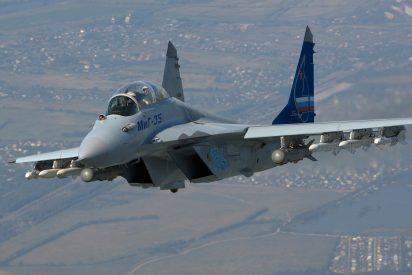 Putin hace otra demostración de fuerza con su nuevo caza MiG-35, el avión más letal del mundo