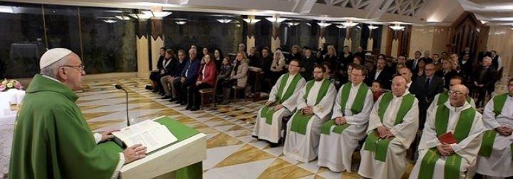 """Francisco: """"La mayor blasfemia es la de quien no quiere ser perdonado por Dios"""""""