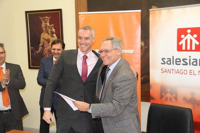 Salesianos y Hoffmann Group firman un acuerdo de colaboración
