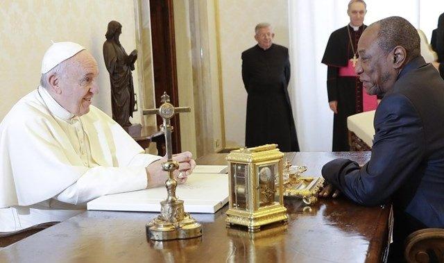 El Papa recibe al presidente de Guinea