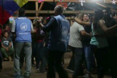 El vergonzoso baile de los enviados de la ONU con narcoguerrilleras de las FARC