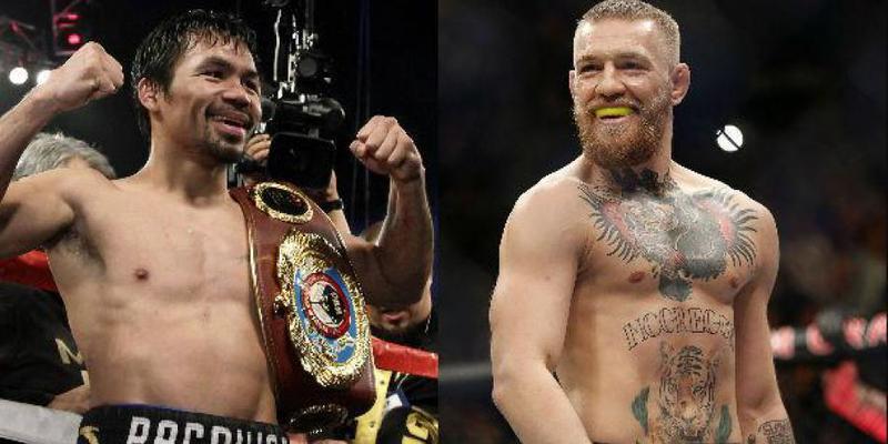 Pacquiao huele el negocio... ¡Y quiere pelear con McGregor!
