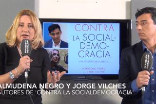 """Almudena Negro y Jorge Vilches: """"La derecha ha renunciado a hacer política para dedicarse solo a gestionar"""""""
