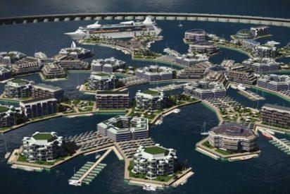 Así será Artisanopolis, la nueva ciudad flotante en la Polinesia Francesa
