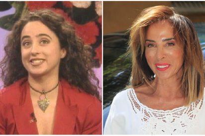 El impresionante cambio físico de María Patiño