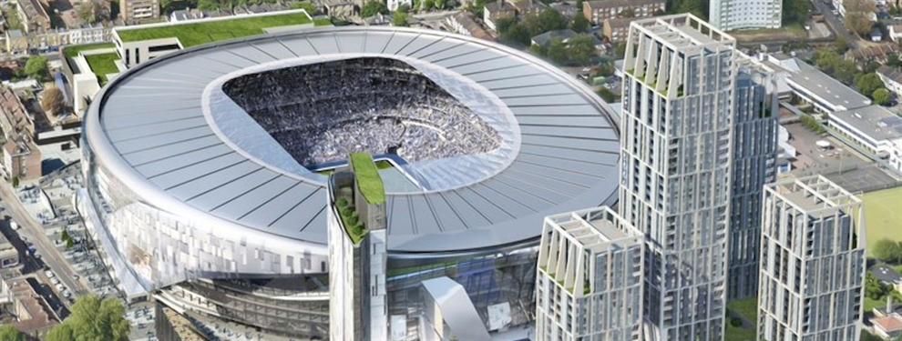 Absolutamente espectacular: Así será el nuevo estadio del Tottenham