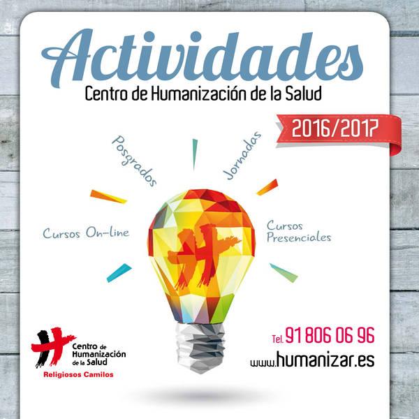 Cursos de enero en el Centro de Humanización de la Salud
