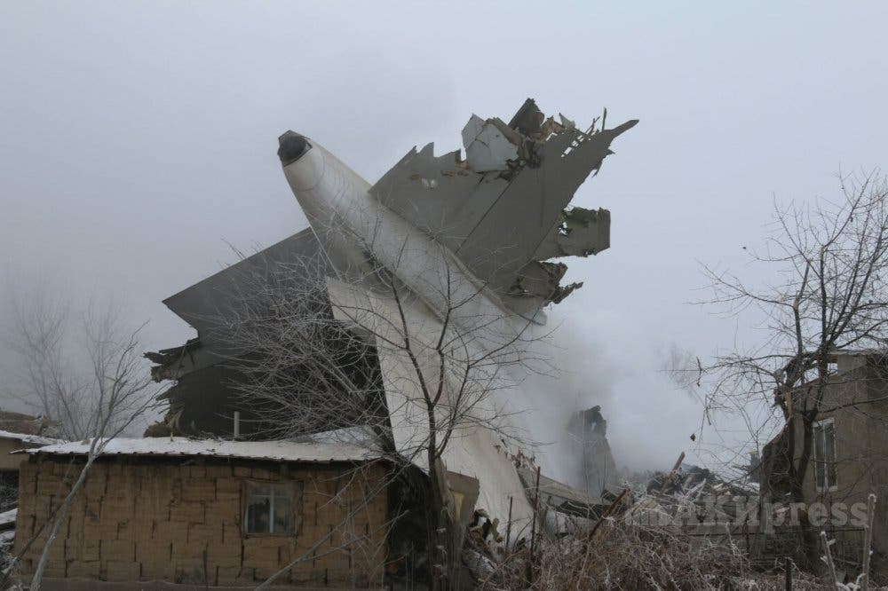 """""""Profundo dolor"""" del Papa por el accidente aéreo en Kirguistán"""