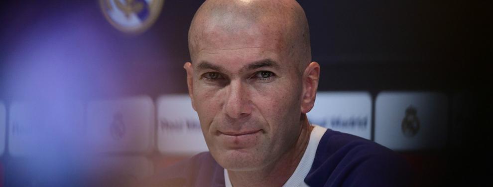 ¡Alerta! La bronca de Zidane a la plantilla antes del partido contra el Granada